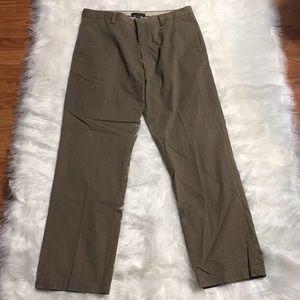 Banana Republic olive green dress pants 34/32